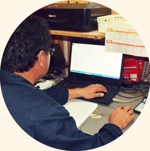 メールで注文する 写真