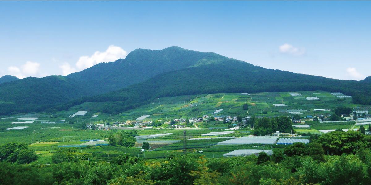 山ノ内のきれいな景色 写真